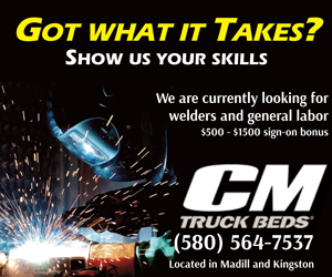 CM Truck Beds - Recruitment Box Ad