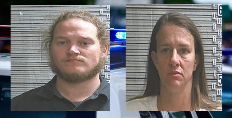 John Waldman and Holli Tull were arrested for two counts of Second-Degree Burglary. They were paddling up to boat docks in the dark, then paddling back out with the residents' belongings.