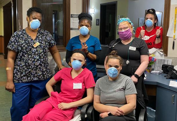 Staff at the Franciscan Villa in Broken Arrow, like all nursing homes, is preparing to receive rapid COVID-19 testing capability. Courtesy photo
