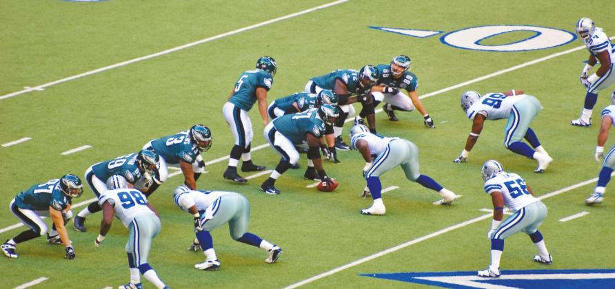 The Dallas Cowboys began a Thanksgiving Day game tradition in 1966. True to the tradition, above, the Cowboys played the Philadelphia Eagles on Thanksgiving Day in 2007. Courtesy photo