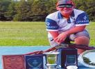 Dakota Sliger, a 14-year-old from Kingston was named All-American in Trapshooting. The awards shown are only the ones he won during The Grand American Tournament. Courtesy photo